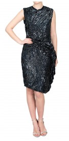 Lanvin Sequined Midi Dress