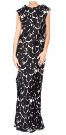 Lanvin Silk Printed Dress
