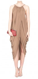 Lanvin Sleeveless Asymmetric Dress