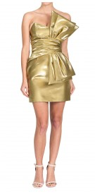 Yves Saint Laurent Strapless Mini Dress