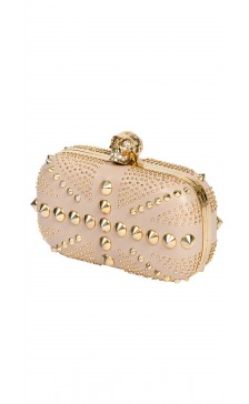 Alexander Mcqueen Studded Box Clutch