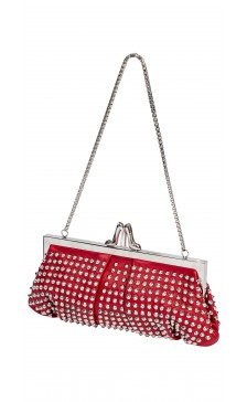 Christian Louboutin Studded Leather Clutch