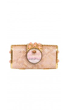 Edidi Crystal Embellished Clutch