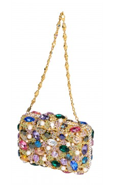 Edidi Crystal Encrusted Clutch