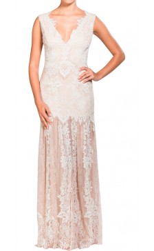 Erin Fetherston Botanical Lace Gown