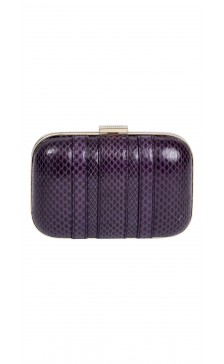 Gucci Textured hard Case Clutch