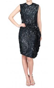 Lanvin Sequined Midi Dress