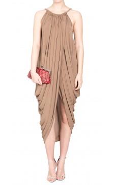 Lanvin Sleeveless Asymmetric Dress