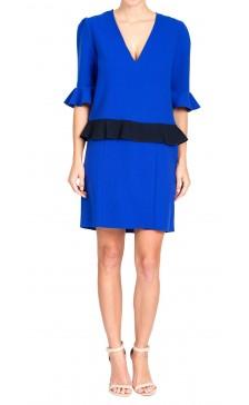 Roksanda Ruffled Mini Dress