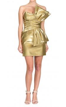 Yves Saint Laurent Strapless Mini Dress