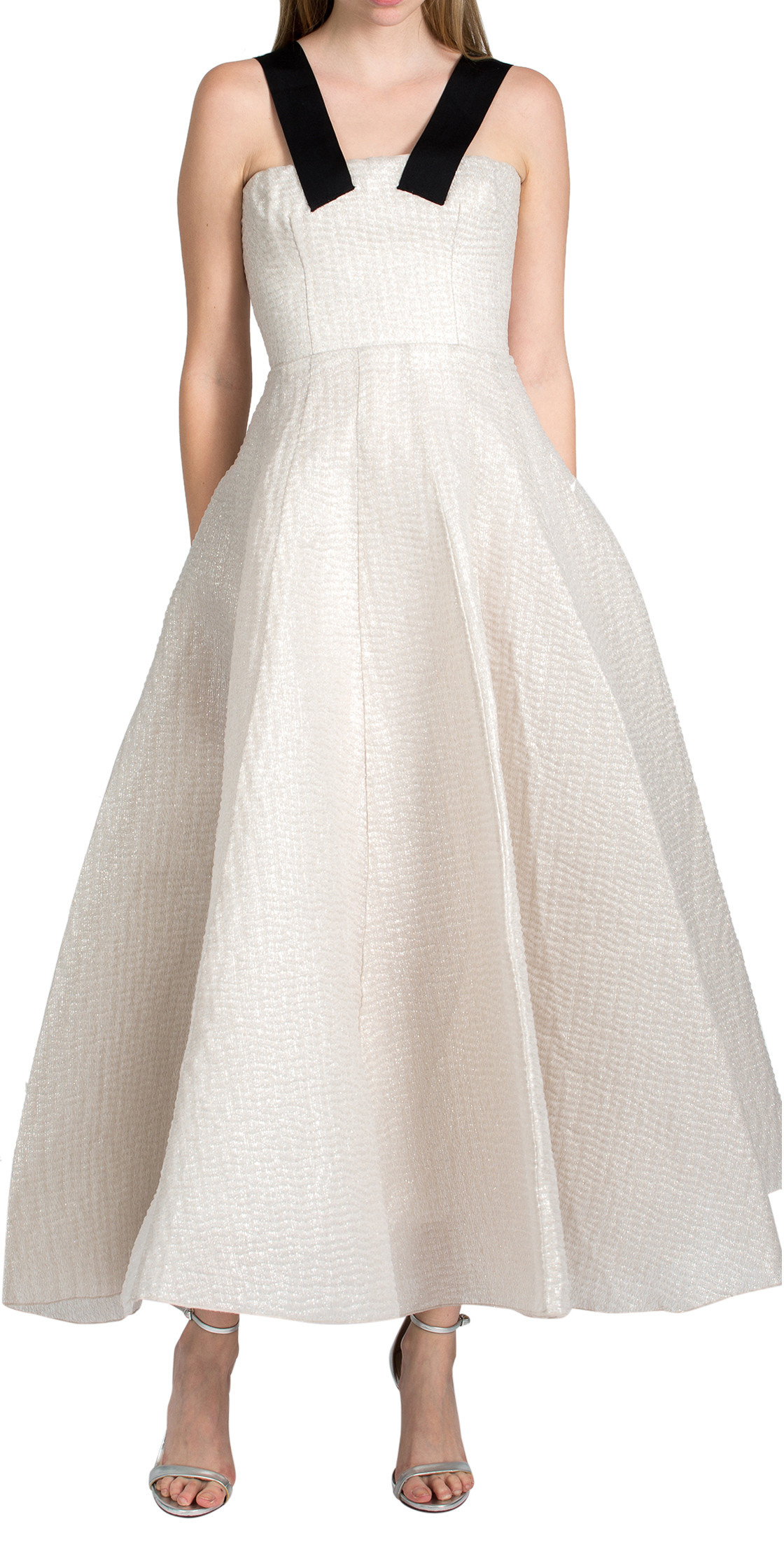 Alex Perry - lurex strapped corset midi | Wedding Dresses Rental ...