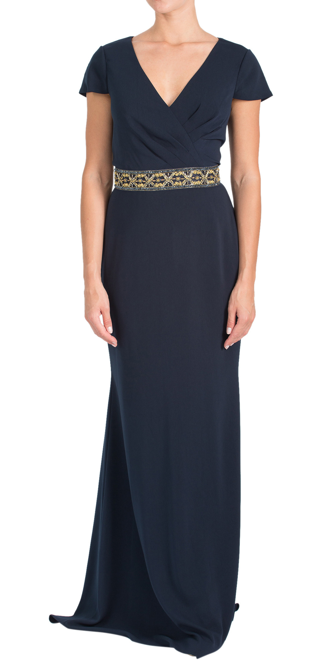 Badgley Mischka Embellished  Dress