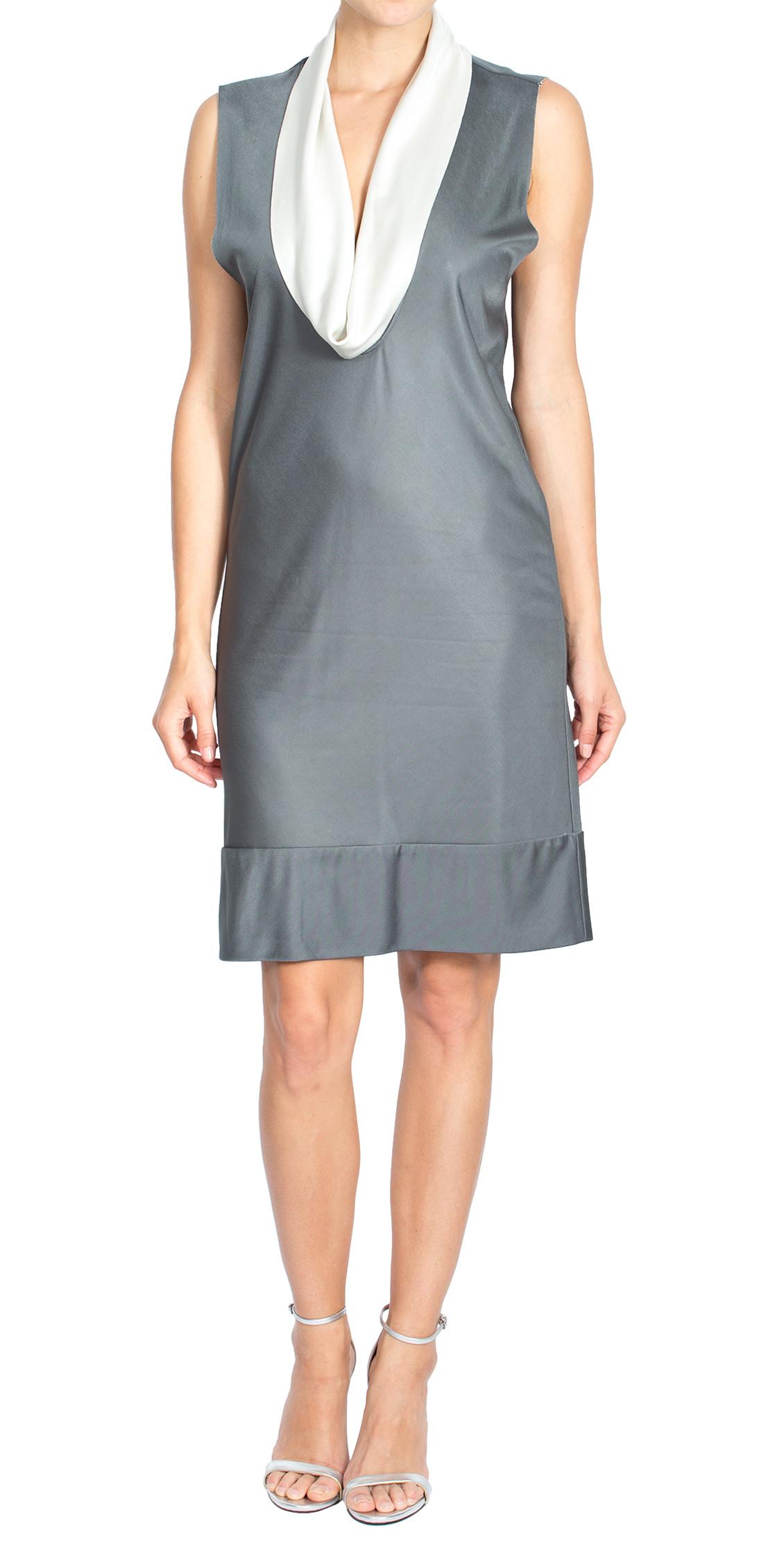 Balenciaga Cowl Neck  Dress
