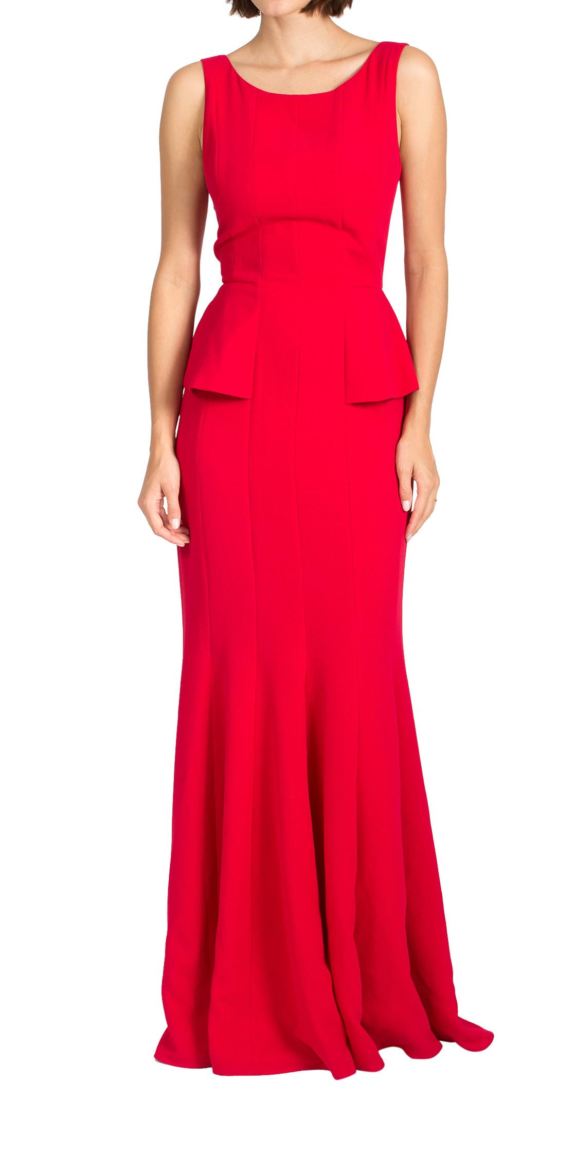 BCBG Maxazria Sleeveless Peplum Dress