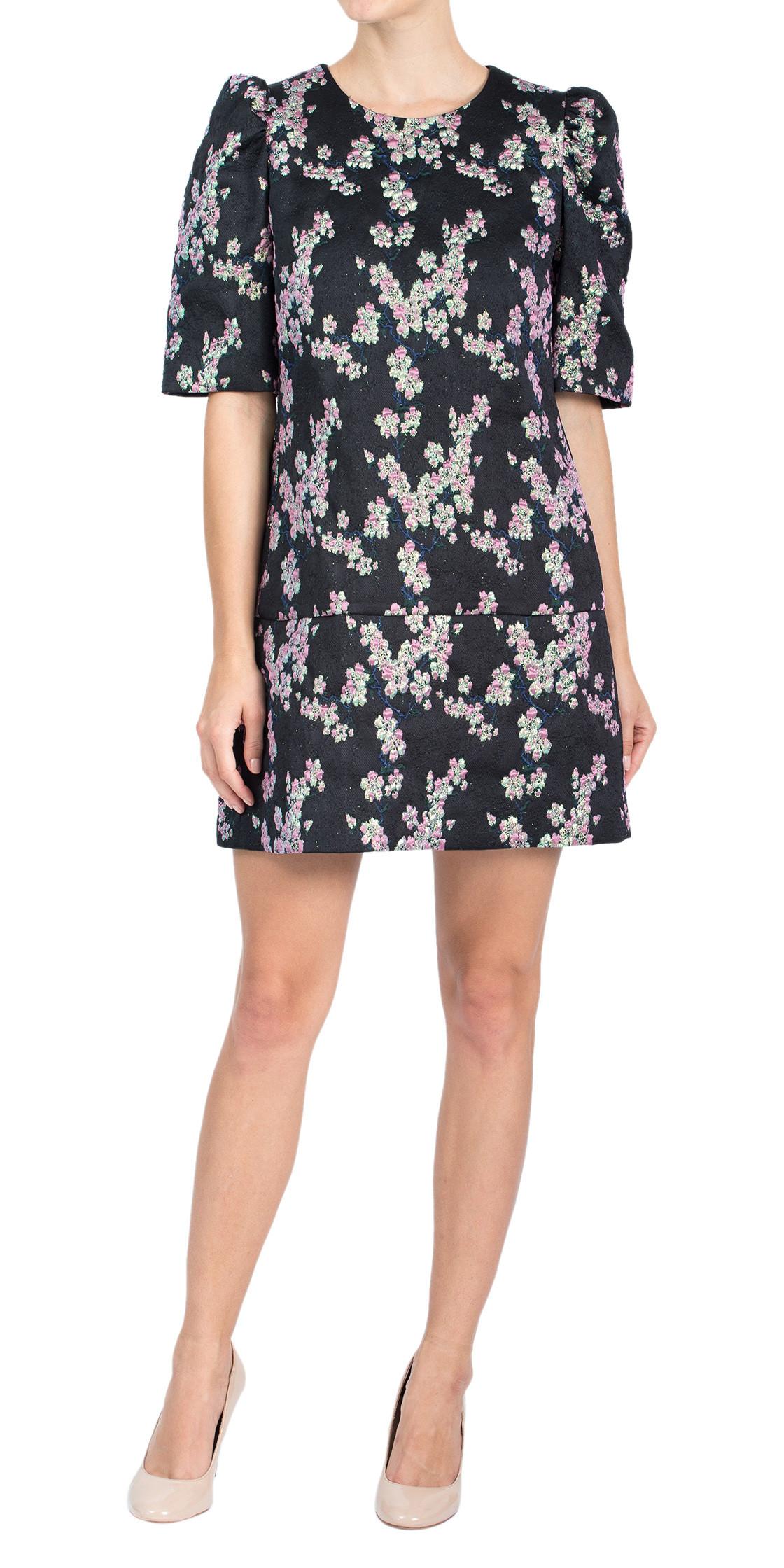 Dries Van Noten Printed Wool Dress