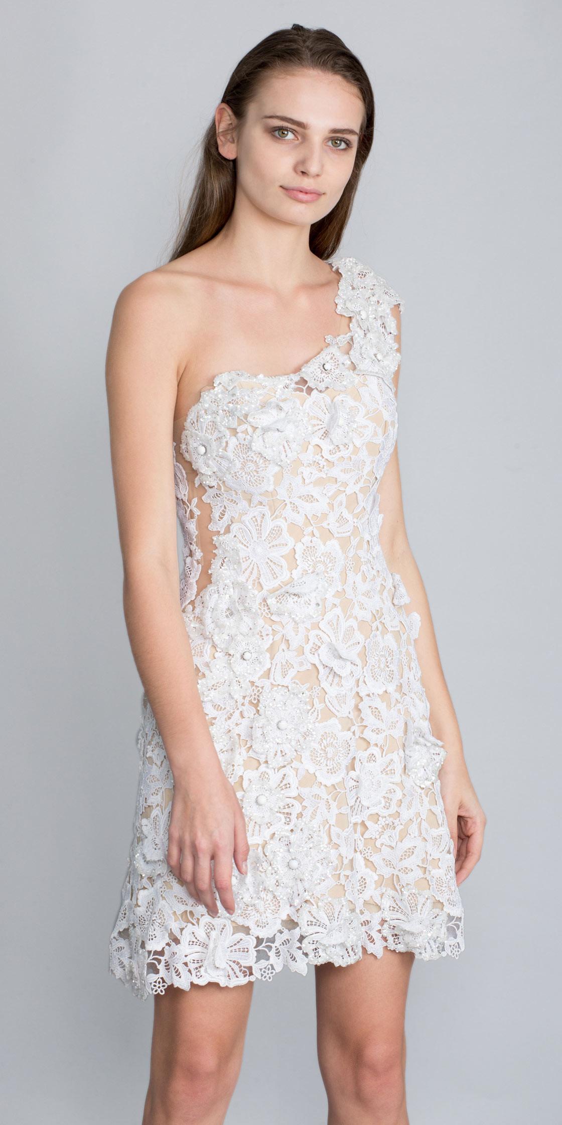 Rouba Maukadem Dantelle Dress