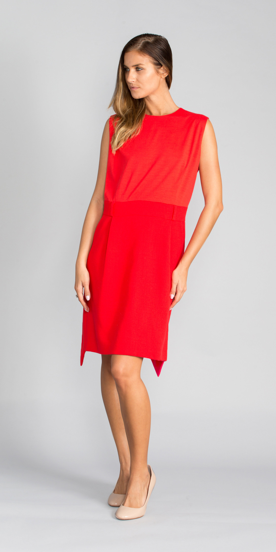 Preen by Thornton Bregazzi Asymmetric Trimmed Dress