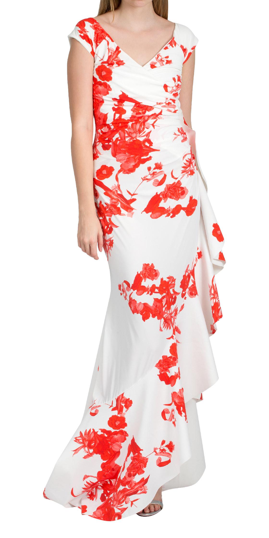 6b53f578fe58 La Petite Robe di Chiara Boni Floral Print Wrap Dress | Evening ...