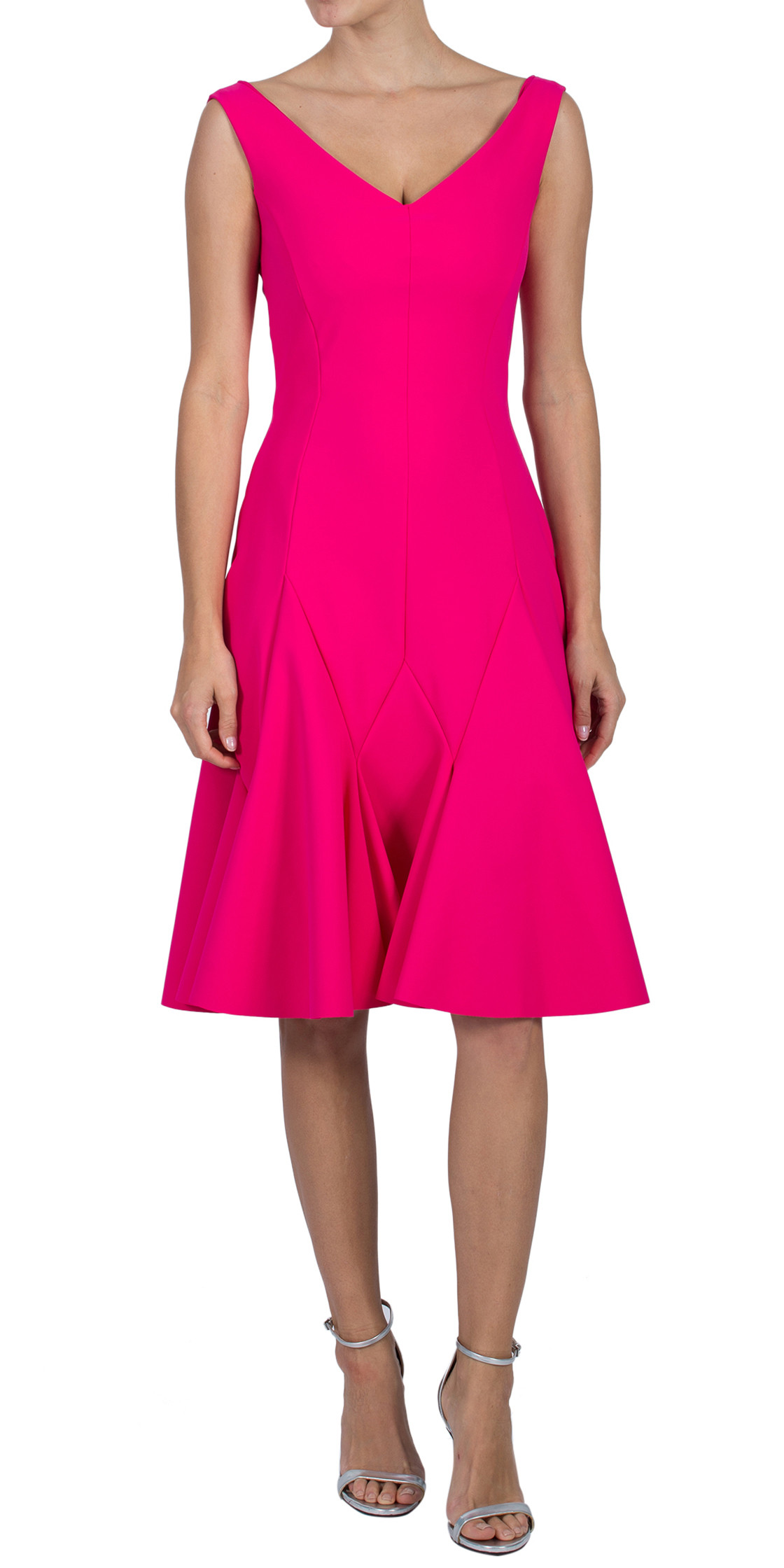 La Petite Robe di Chiara Boni Sleeveless A-Line Dress
