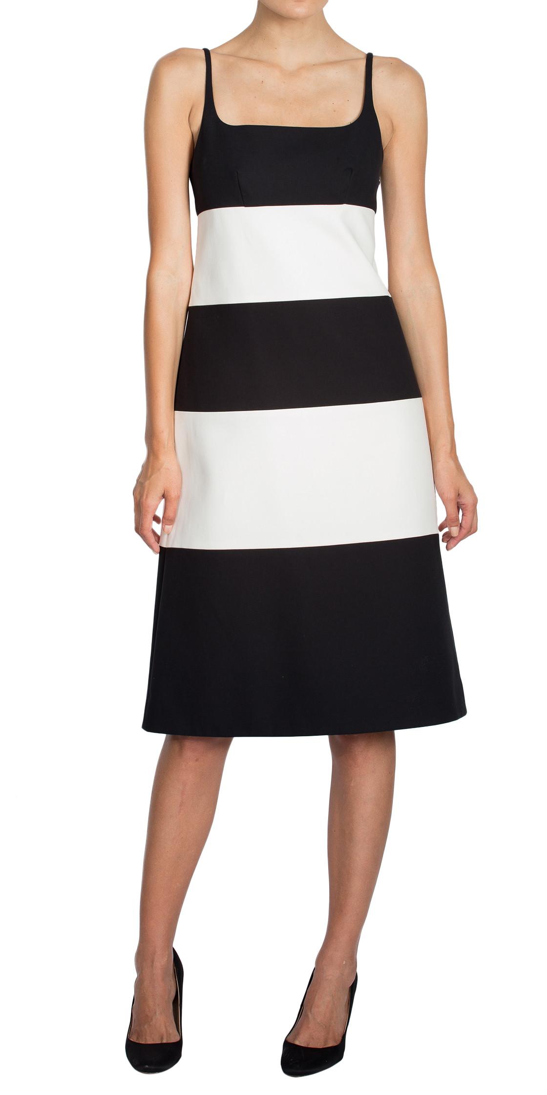 Marc Jacobs Two-Tone Sleeveless Dress