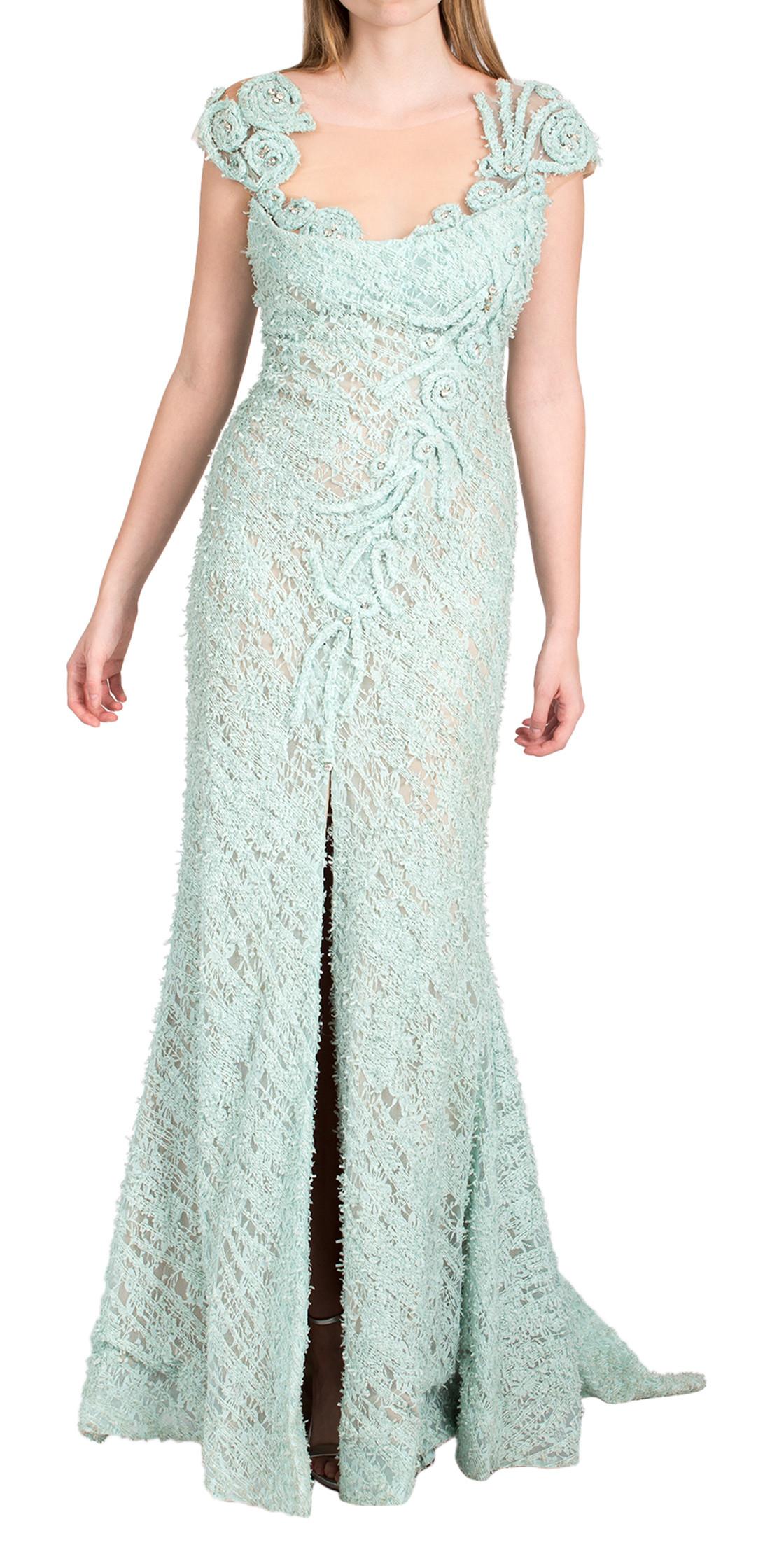 MNM Couture Sleeveless Maxi Dress