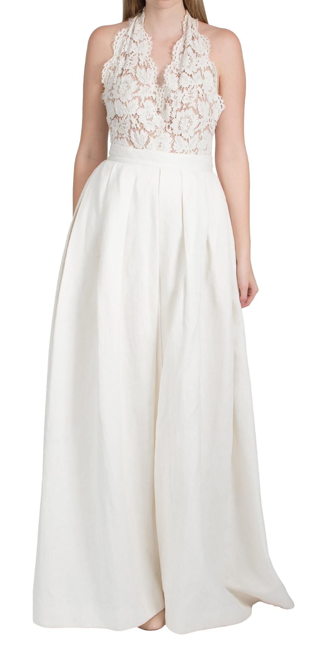 Two Pcs Lace Jumpsuit | Evening Dresses Rental | Dubai Rent a Dress ...