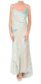 Abed Mahfouz Sequined Sleeveless Dress