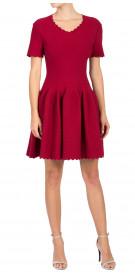 ALAÏA A-Line Mini Dress