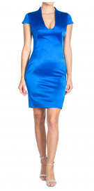 Alexander Mcqueen Silk Pencil Dress
