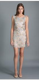 Alice + Olivia Embellished Bodycon Dress