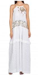 Antonio Marras Lace Ruffled Dress