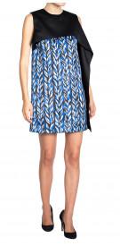 Balenciaga Printed Draped Dress
