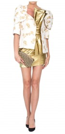 Chanel Gold Patterned Jacket