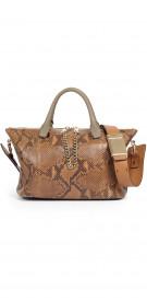 Chloe Python Shoulder Bag