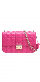 Christian Dior Quilted Clutch With Strap