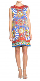 Dolce & Gabbana Jacquard Printed Dress