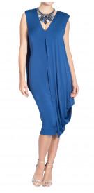 Donna Karan Drape Jersey Dress