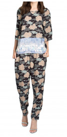 Dries Van Noten Embellished Top & Trouser