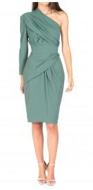 Elie Saab Asymmetric Draped Dress