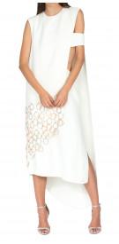 Esteban Cortázar Two-Piece Embellished Gown