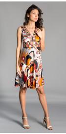 Emillio Pucci Printed Short Dress