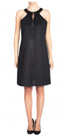 Giorgio Armani Embellished Sleeveless Dress