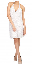 Herve Leger Halter Mini Dress