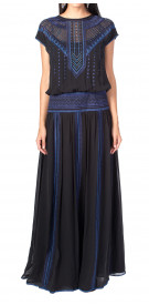 Karen Millen Embellished Sleeveless Gown