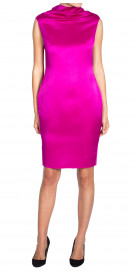 Lanvin Silk Pencil Dress