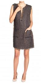 Lanvin Sleeveless Woven Dress