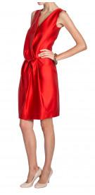 Lanvin Wrap Silk Dress