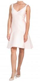 Lela Rose Sleeveless Silk Dress