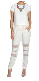 Maje Sheer Lace Tops and Pants