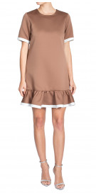 Marc Jacobs Pleated Hem Dress